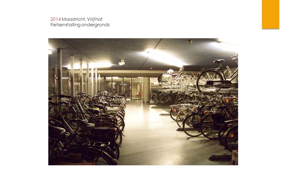 2014 Maastricht, Vrijthof Fietsenstalling ondergronds