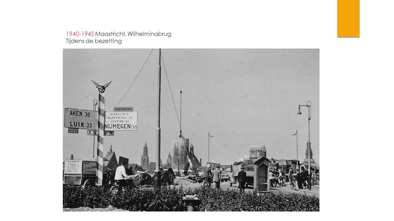 1940-1944 Maastricht, Markt Tijdens bezetting.