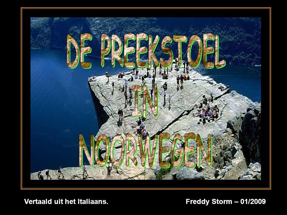 Vertaald uit het Italiaans. Freddy Storm – 01/2009