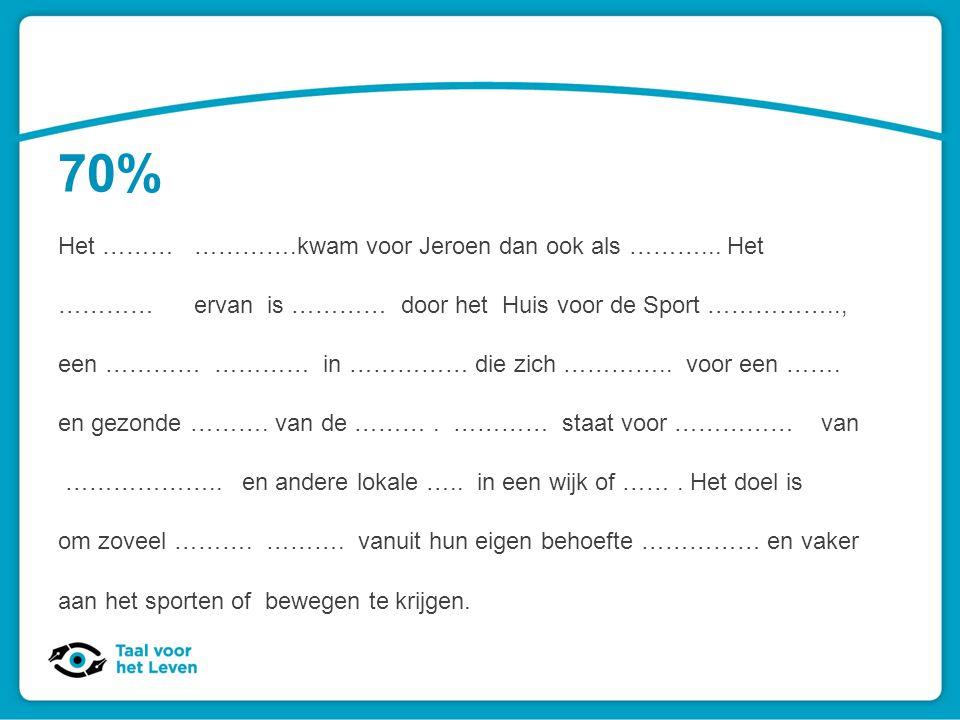 Laaggeletterdheid: feiten en cijfers 42% diploma lager onderwijs 38% vmbo- of mbo 1-diploma 9% mbo 2, 3 of 4-diploma