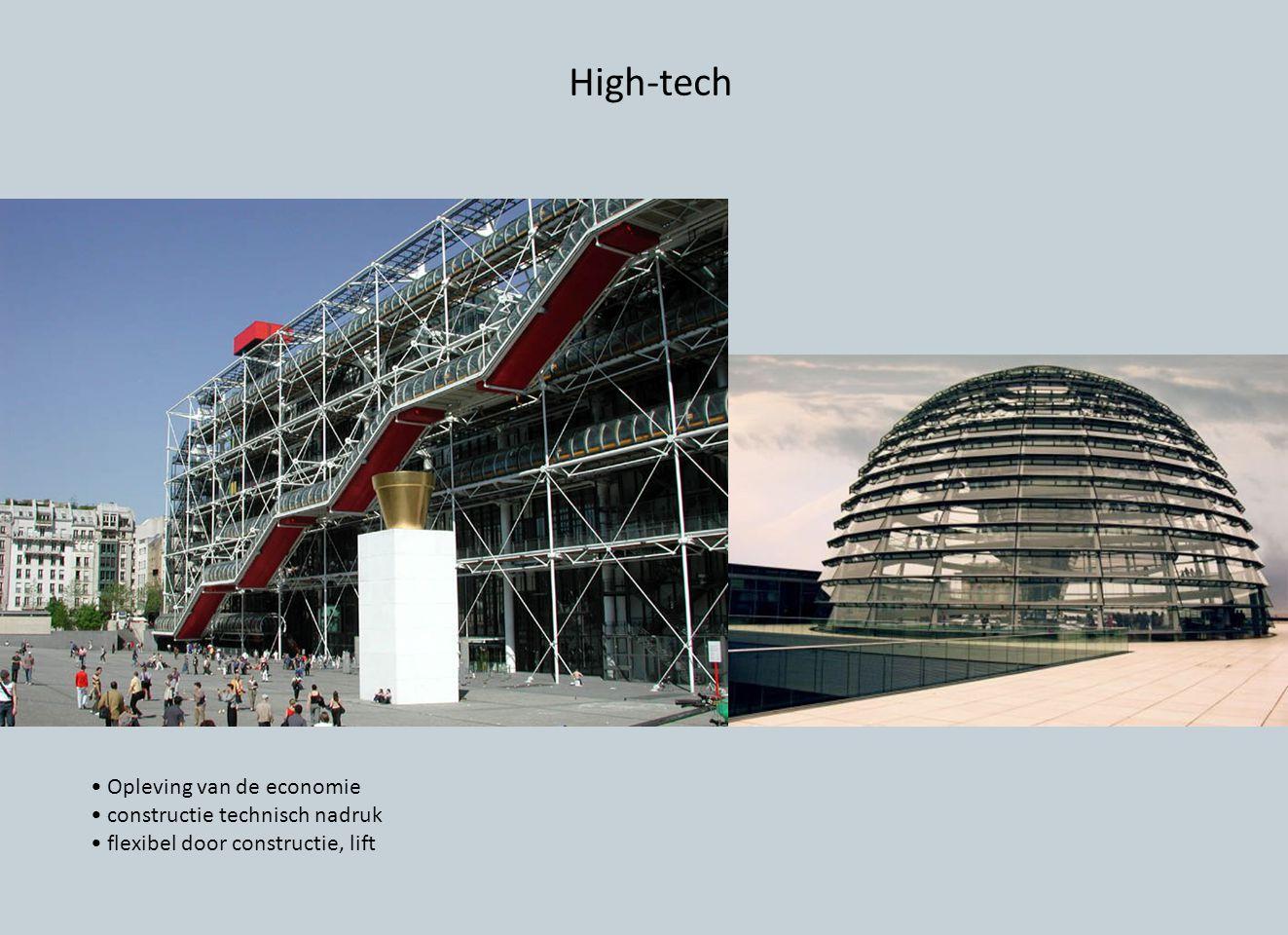 High-tech Opleving van de economie constructie technisch nadruk flexibel door constructie, lift