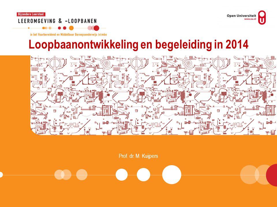 Loopbaanontwikkeling en begeleiding in 2014 Prof. dr. M. Kuijpers
