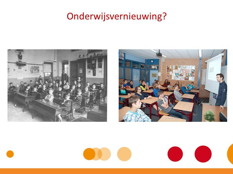 Onderwijsvernieuwing?