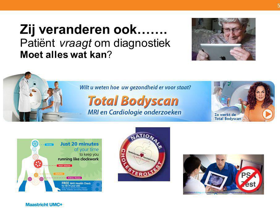 16 # Gezond Leven met Gepaste Gebruik van Diagnostiek [ # Its Up To Us ]