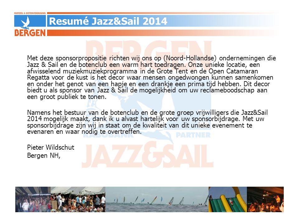Met deze sponsorpropositie richten wij ons op (Noord-Hollandse) ondernemingen die Jazz & Sail en de botenclub een warm hart toedragen. Onze unieke loc