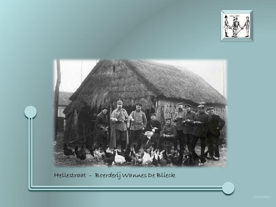 Hoek Potaarde / Eindeken - Duitse bakkerij in de woning van de Wed. Thiron - Bryssinck