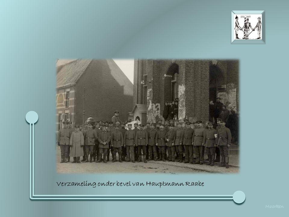 """Koewacht 1916 - """"Die Lustige Stube"""