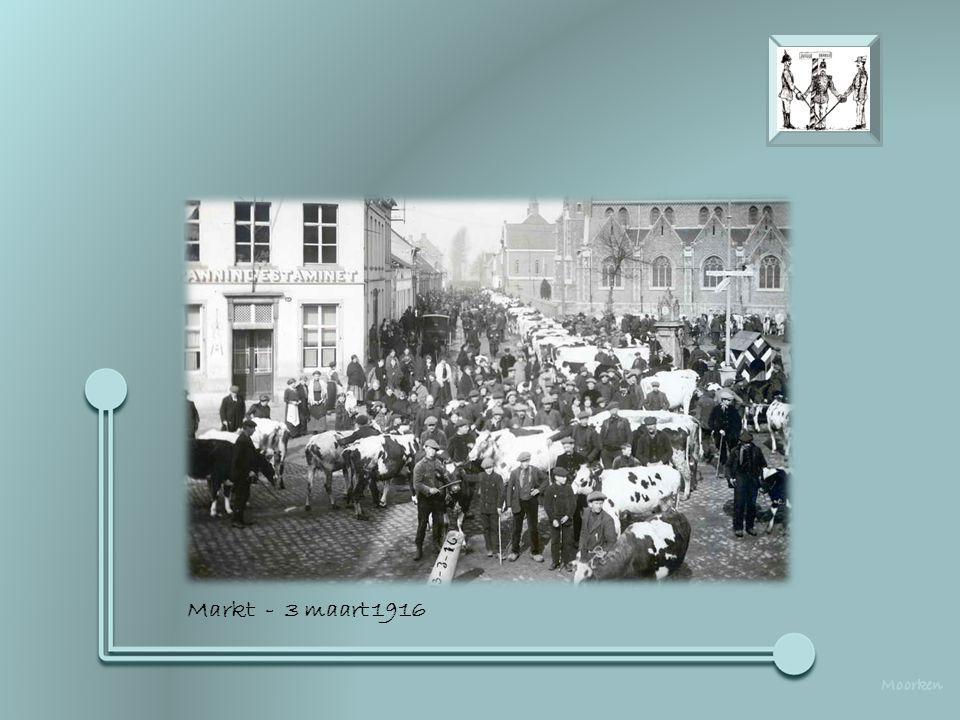 Markt - 3 maart 1916