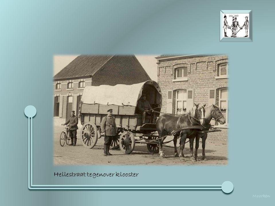 Hoek Hellestraat / Breedstraat - Infirmerie