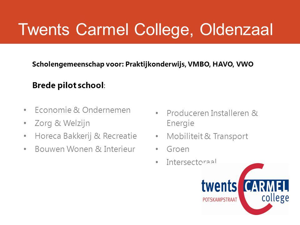 Twents Carmel College, Bouwen Wonen & Interieur