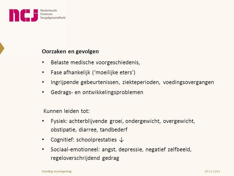 Vragen en discussiepunten 18-11-2014Voeding en eetgedrag