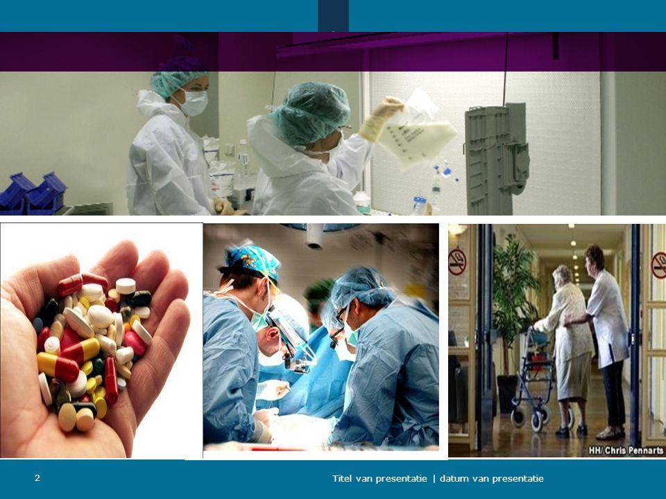 Plaatje gezondheidszorg Titel van presentatie | datum van presentatie 2