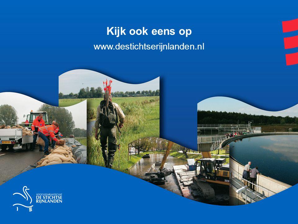Kijk ook eens op www.destichtserijnlanden.nl