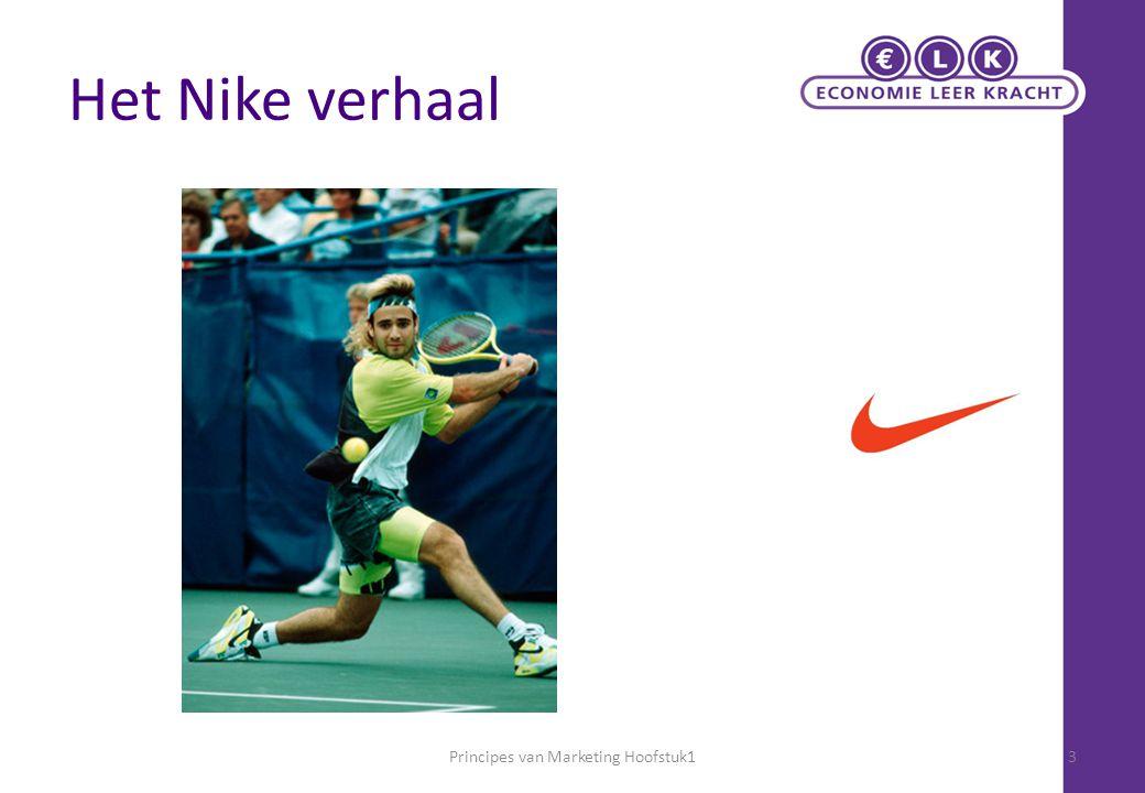 Het Nike verhaal Principes van Marketing Hoofstuk13