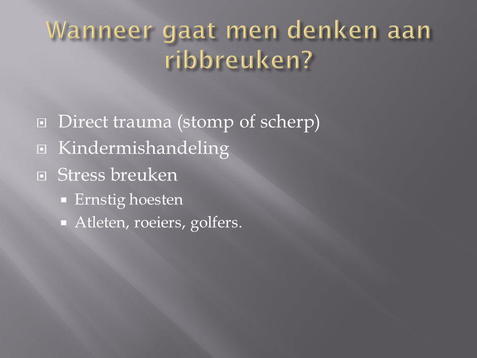  Verwijzing ziekenhuis  Drukverband + zo mogelijk spalken  Voet hoog!  Pijnstilling