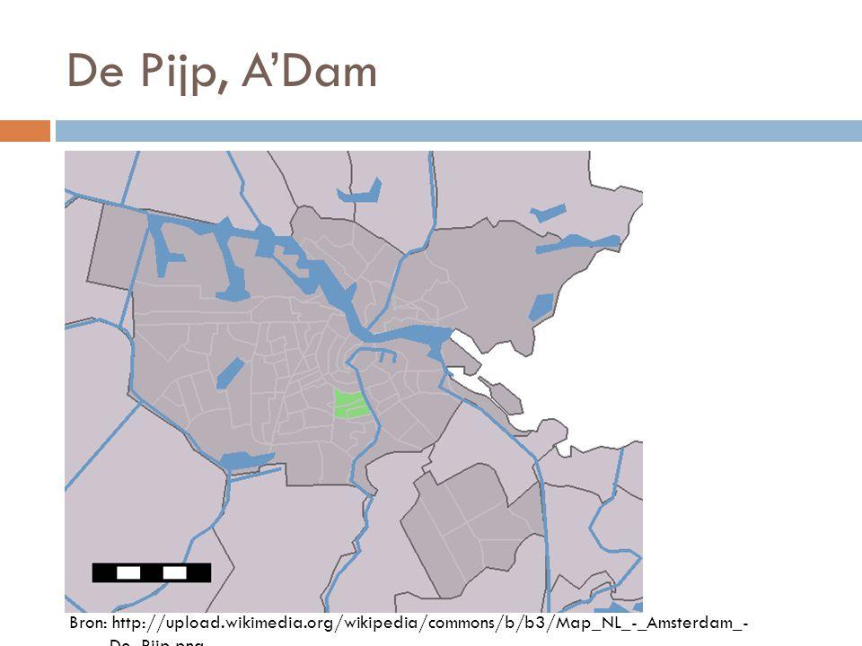 De Pijp, A'Dam Bron: http://upload.wikimedia.org/wikipedia/commons/b/b3/Map_NL_-_Amsterdam_- _De_Pijp.png