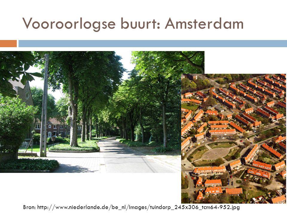 Vooroorlogse buurt: Amsterdam Bron: http://www.niederlande.de/be_nl/Images/tuindorp_245x306_tcm64-952.jpg