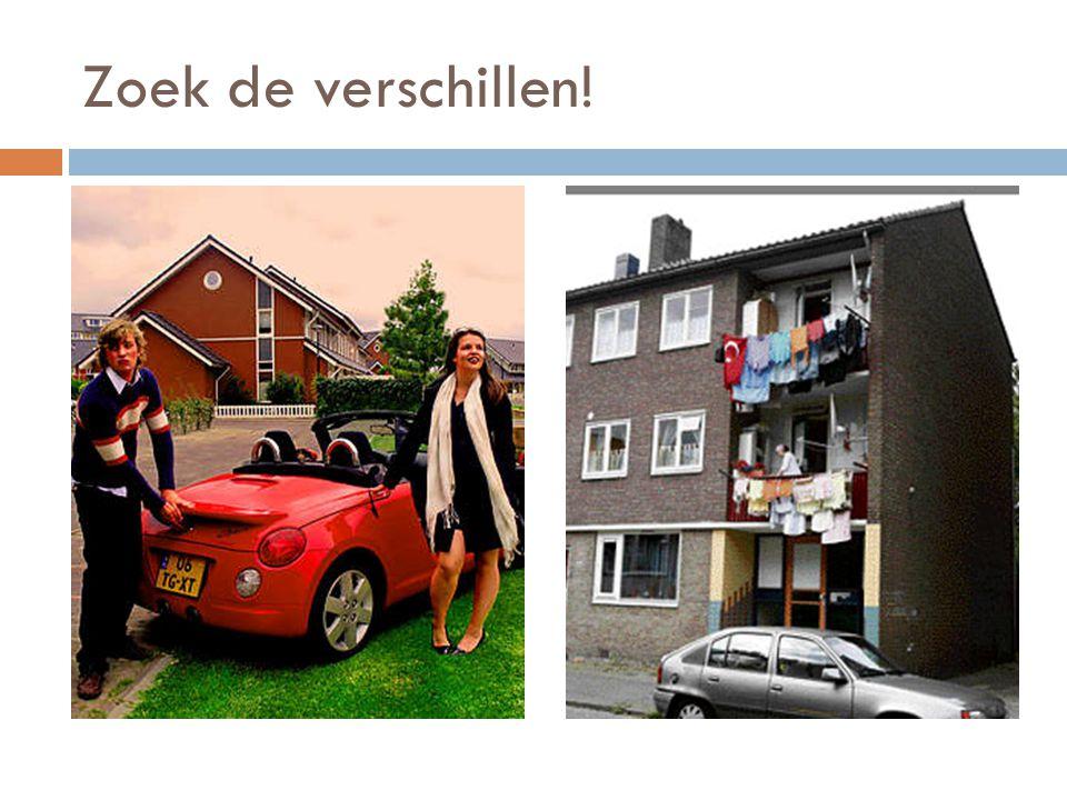 Buurtprofiel: hoe typeer je een buurt  Bewonerskenmerken:  Huishoudengrootte  Etniciteit  Inkomen  Gezinsfase  Woningkenmerken  Ouderdom  Woningtype  Ligging  Eigendomsverhouding  Waarde  Onderhoudsstaat
