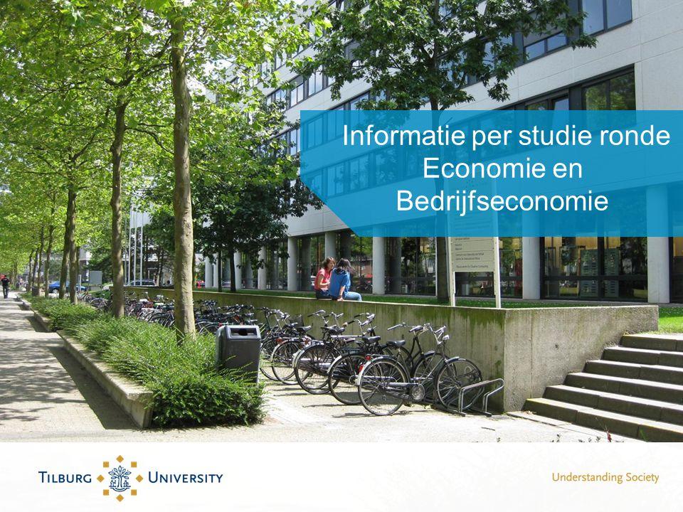 Informatie per studie ronde Economie en Bedrijfseconomie