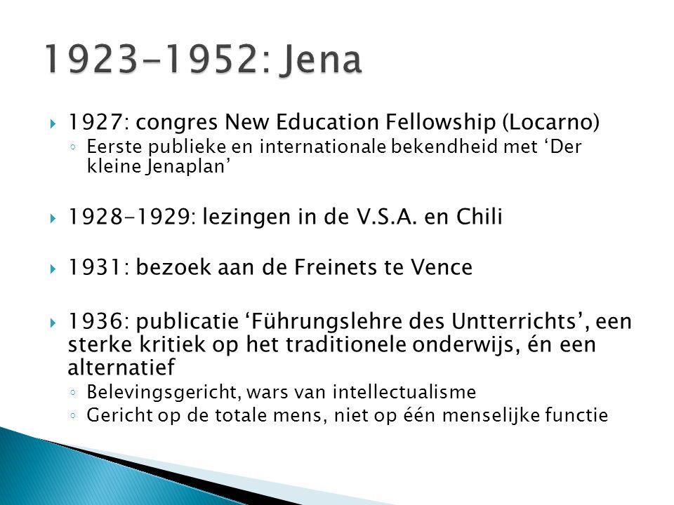  WO II: wordt ongemoeid gelaten door regime  1950: sluiting van de Petersenschool en verbod op de pedagogiek  1952: overlijdt, ziek en ontgoocheld