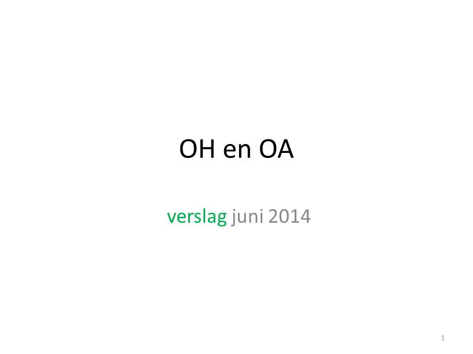 OH en OA verslag juni 2014 1