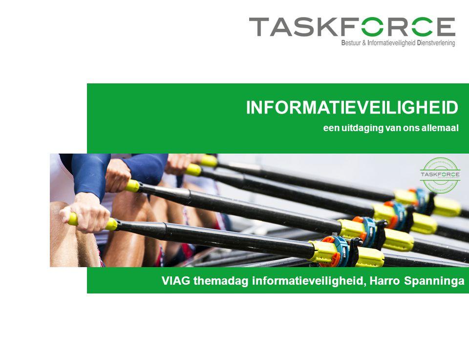 INFORMATIEVEILIGHEID een uitdaging van ons allemaal VIAG themadag informatieveiligheid, Harro Spanninga