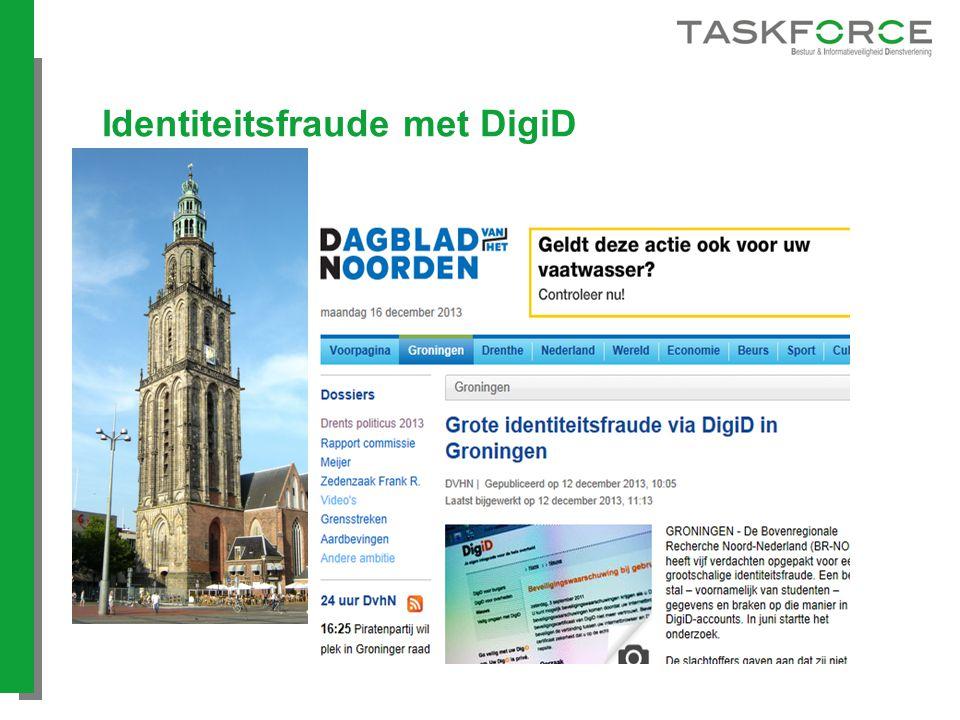 Identiteitsfraude met DigiD