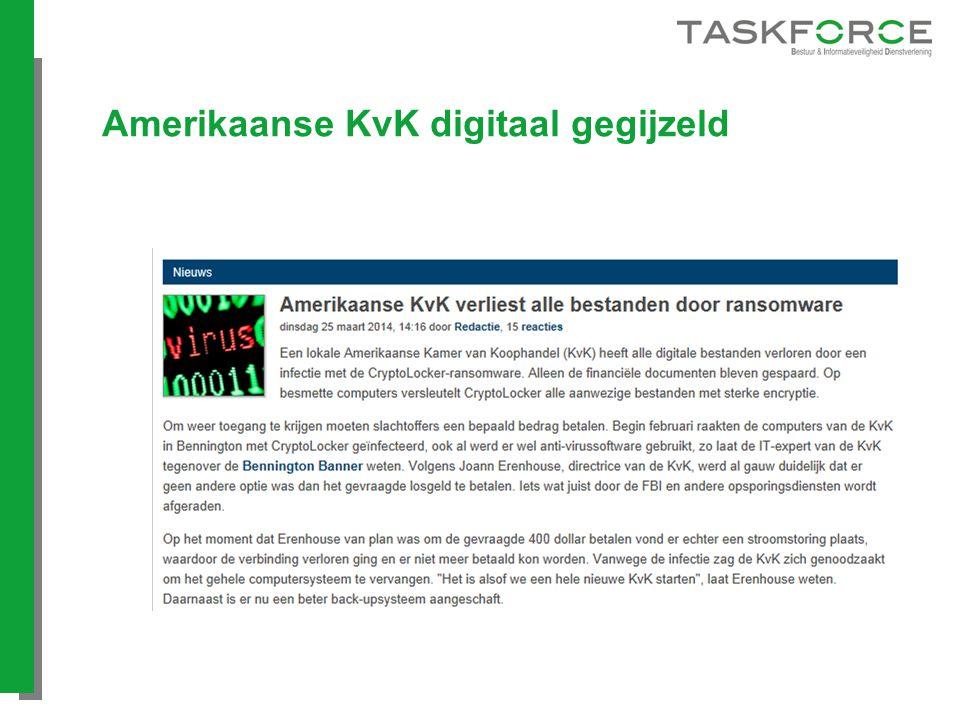 Amerikaanse KvK digitaal gegijzeld
