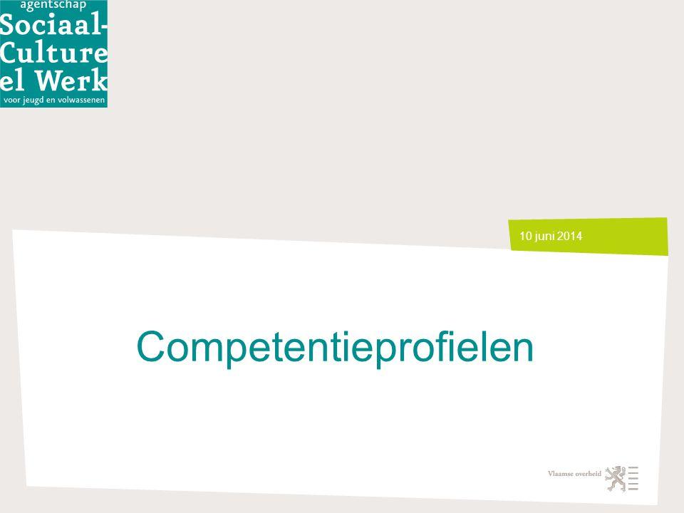 Competentieprofielen 10 juni 2014