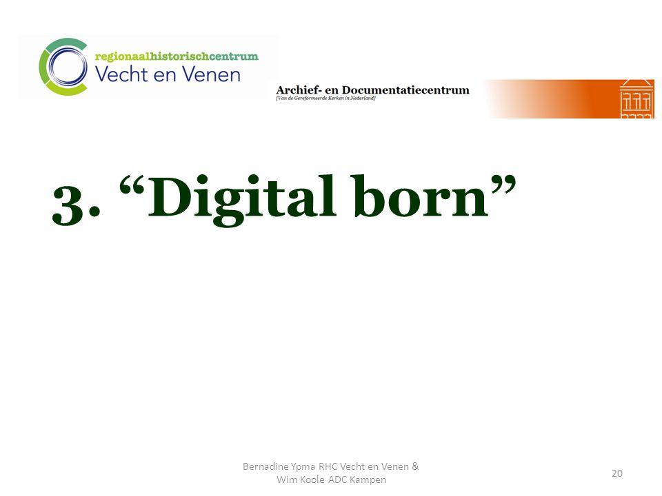 3. Digital born Bernadine Ypma RHC Vecht en Venen & Wim Koole ADC Kampen 20