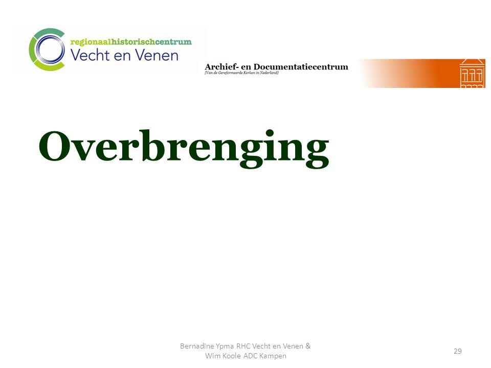 Overbrenging Bernadine Ypma RHC Vecht en Venen & Wim Koole ADC Kampen 29