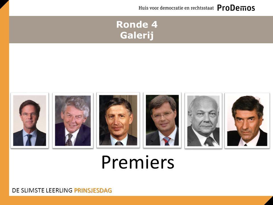 Ronde 4 Galerij Premiers PRINSJESDAG DE SLIMSTE LEERLING PRINSJESDAG