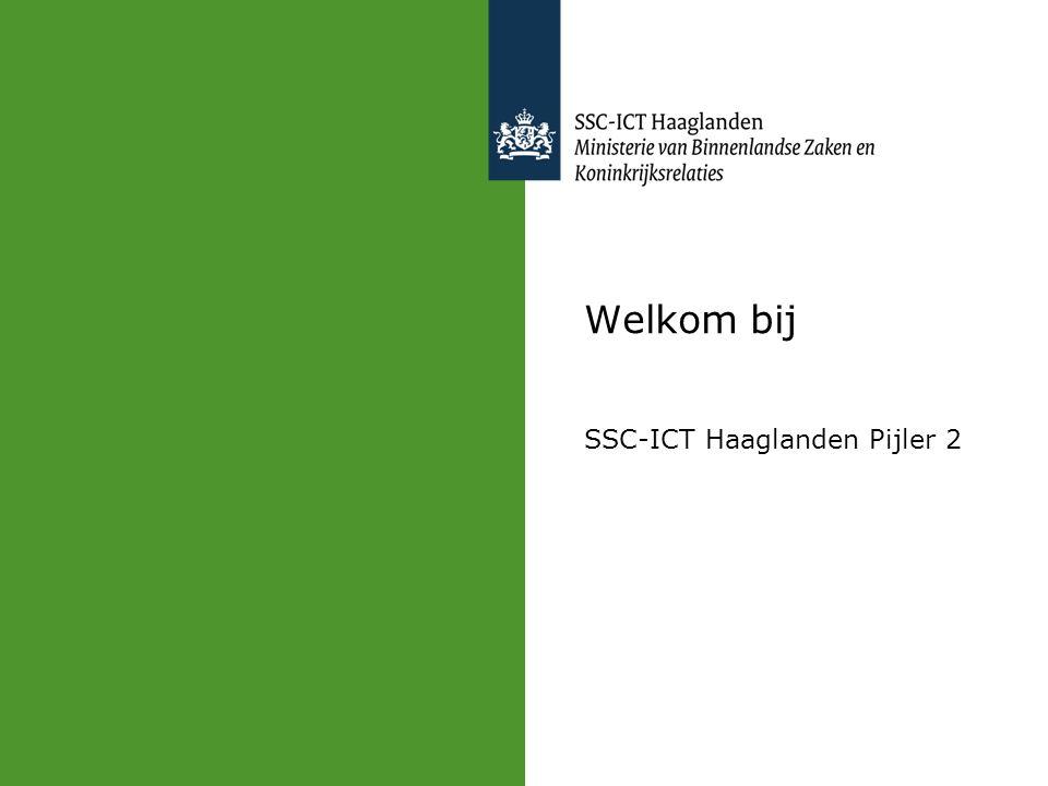 Welkom bij SSC-ICT Haaglanden Pijler 2