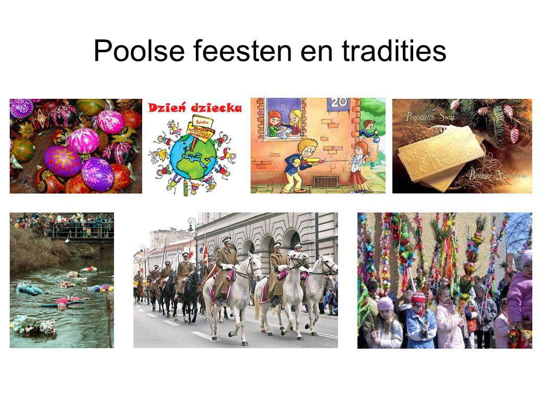 Poolse feesten en tradities