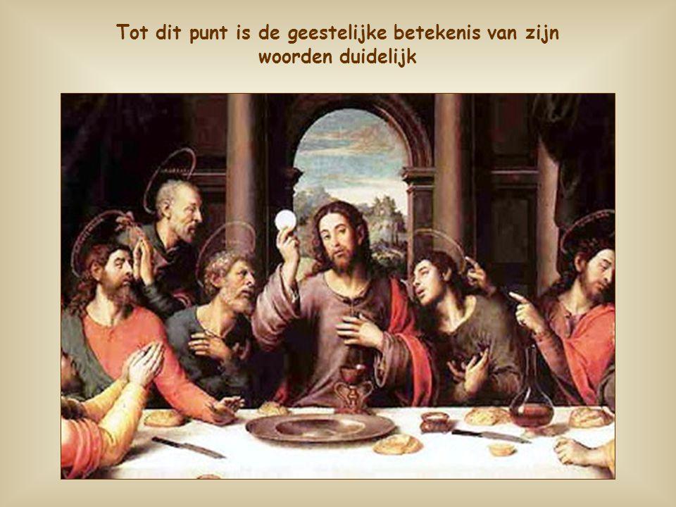 Jezus ziet zichzelf als brood. Dat is de ultieme reden van zijn leven hier op aarde.