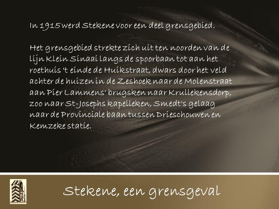 Stekene, een grensgeval Tekeningen en tekst uit het dagboek van Dr. Leon Van Haelst, schepen van de gemeente Stekene tijdens de Grote Oorlog Samenstel