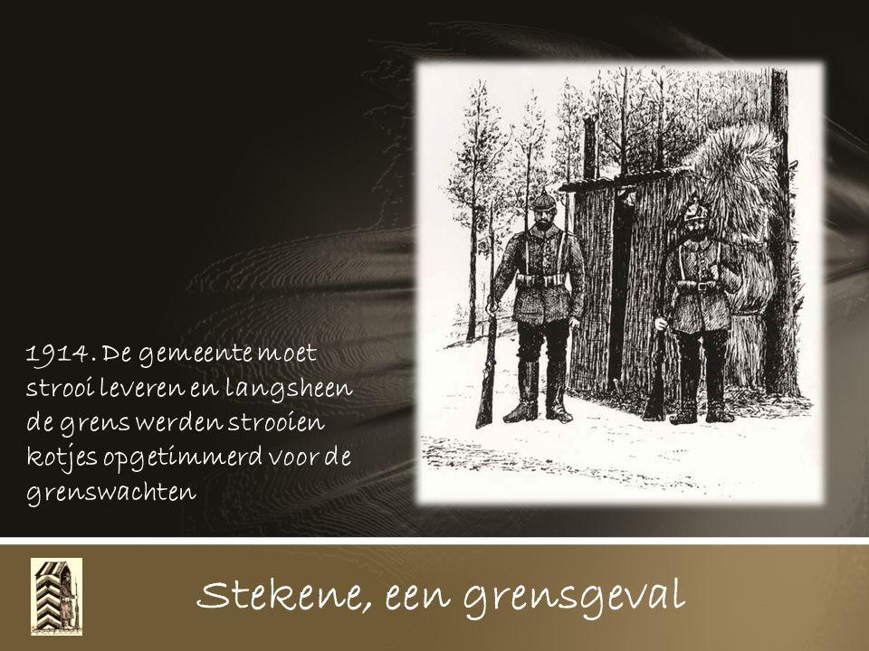 1914. De Hollandse Jantjes mochten wel sakkeren op die verrekte Belgen die heel Zeeland kwamen leeg halen, maar beletten konden ze niet, toen kwamen d