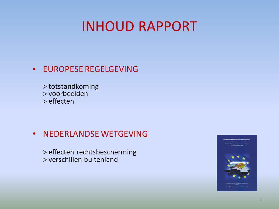 UITWERKING EUROPESE REGELS WAARDEOORDEEL? CONSEQUENTIES? 4