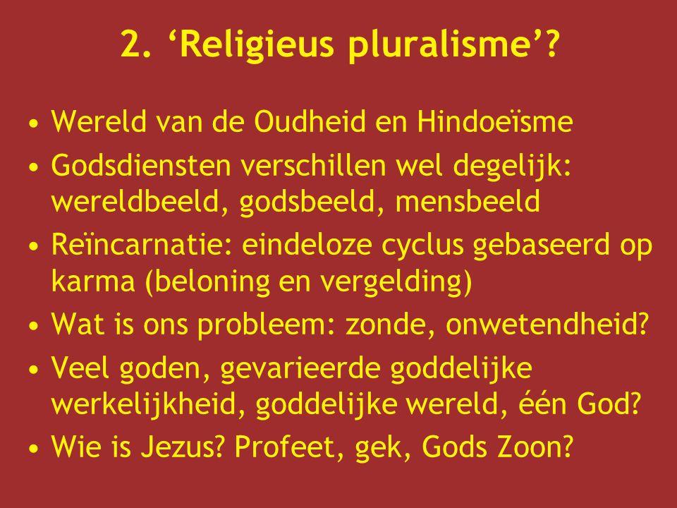 3.Wie is Jezus.