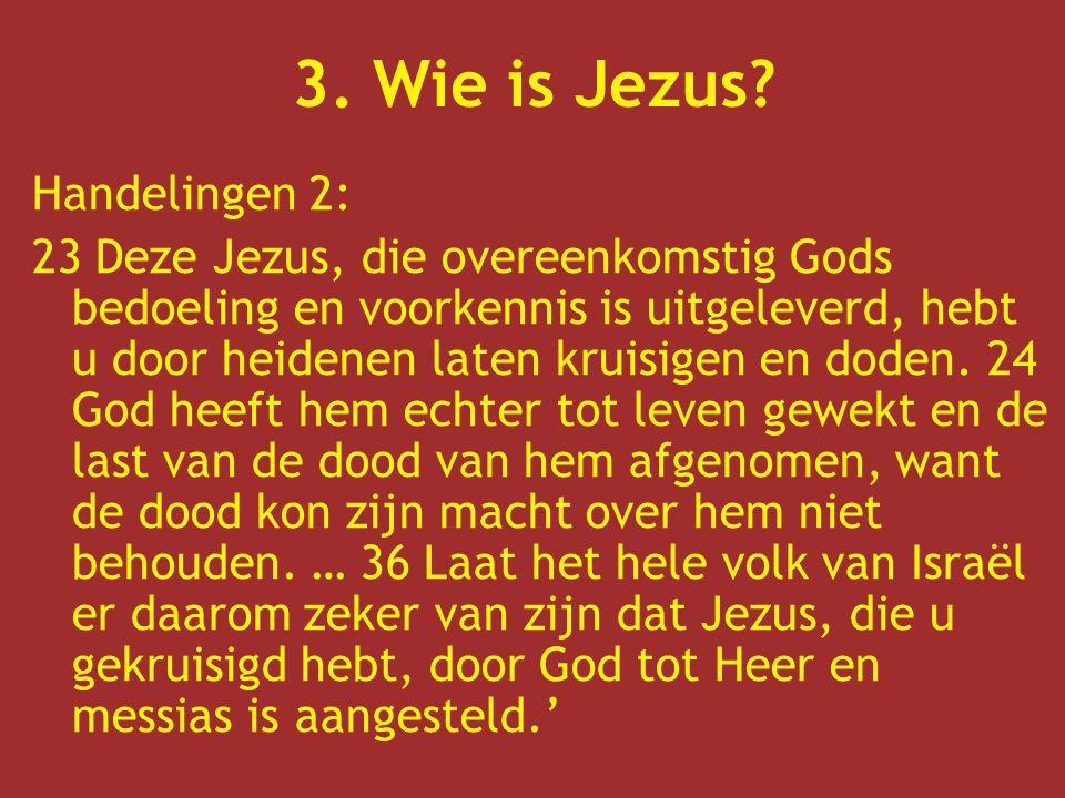 En zonder Jezus.
