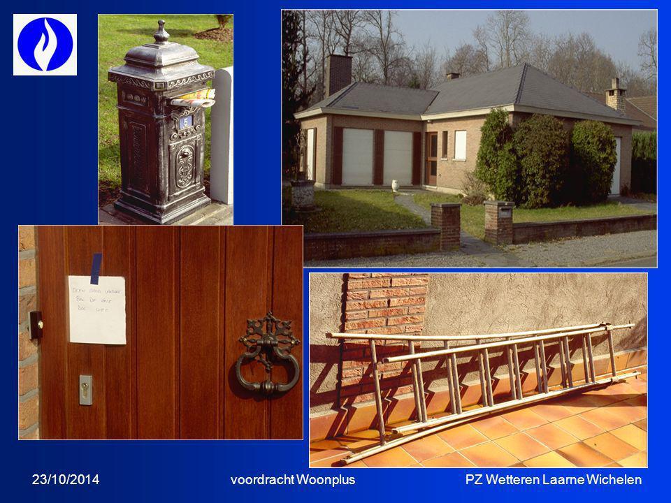 23/10/2014 voordracht Woonplus PZ Wetteren Laarne Wichelen