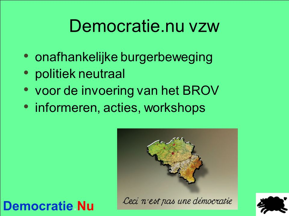 Democratie.Nu II- Verzoekschriften aan de gemeenteraad  Art.