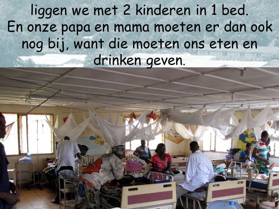 Dit ziekenhuis is een geweldige plek! en kinderen uit heel Sierra Leone komen hier naar toe.