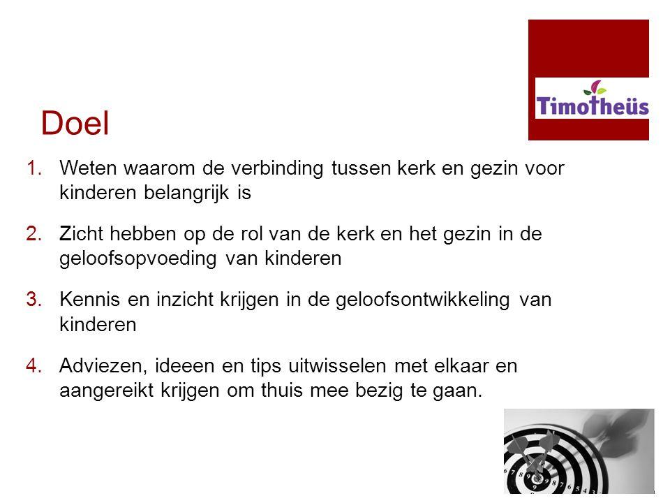 Funderingsgeloof: peutertijd.