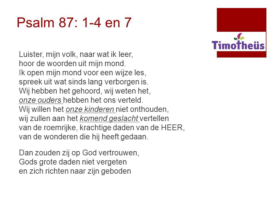 Waarom verbinding kerk- gezin? Friezen in Amsterdam