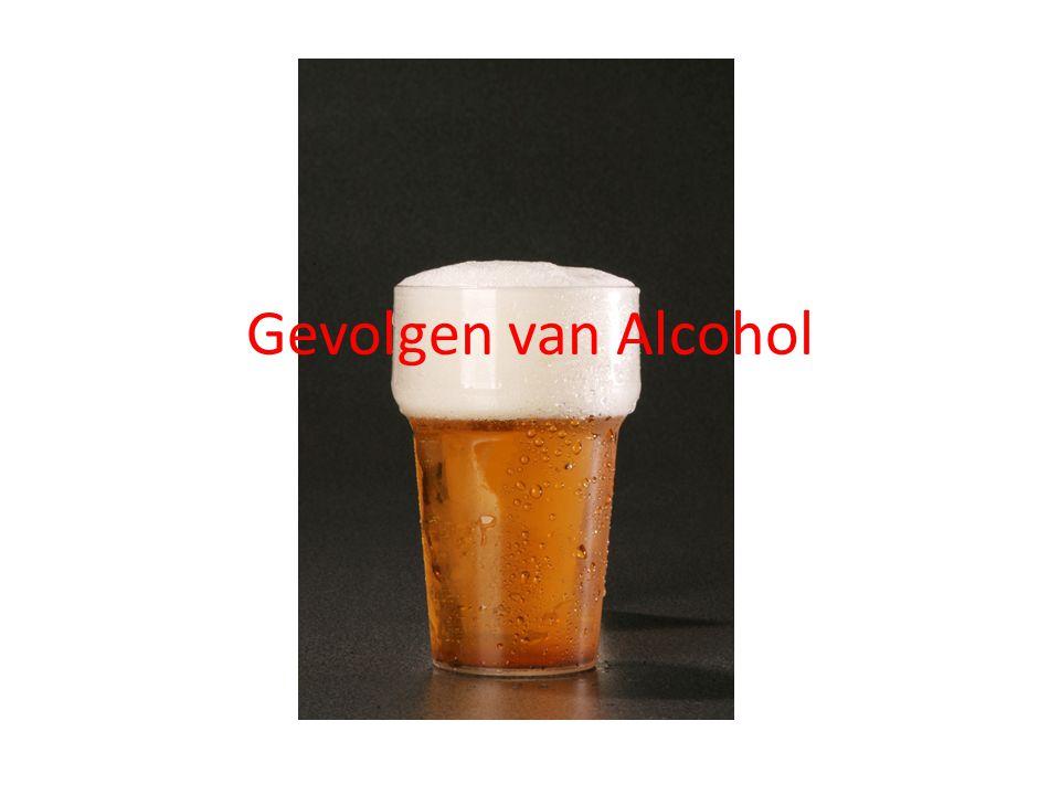 Gevolgen van Alcohol