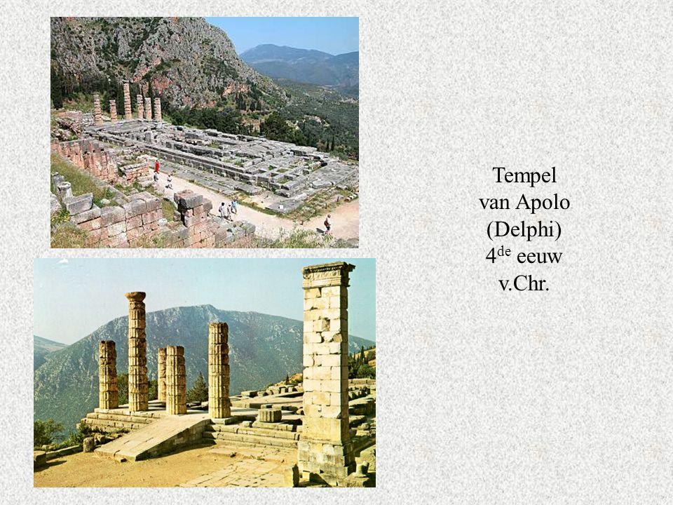 Tempel van Apolo (Delphi) 4 de eeuw v.Chr.