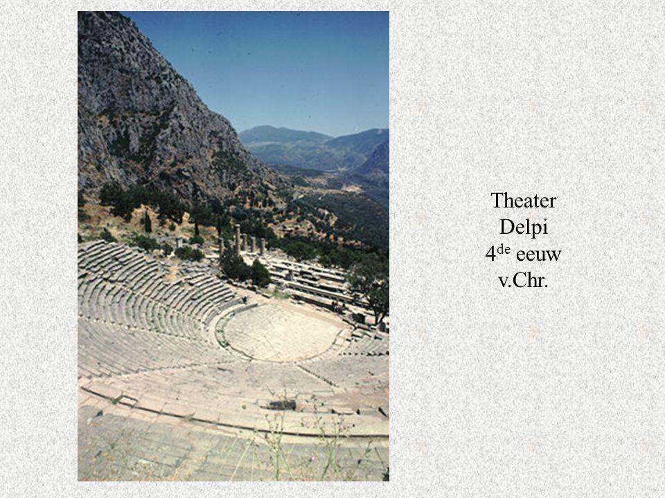 Theater Delpi 4 de eeuw v.Chr.