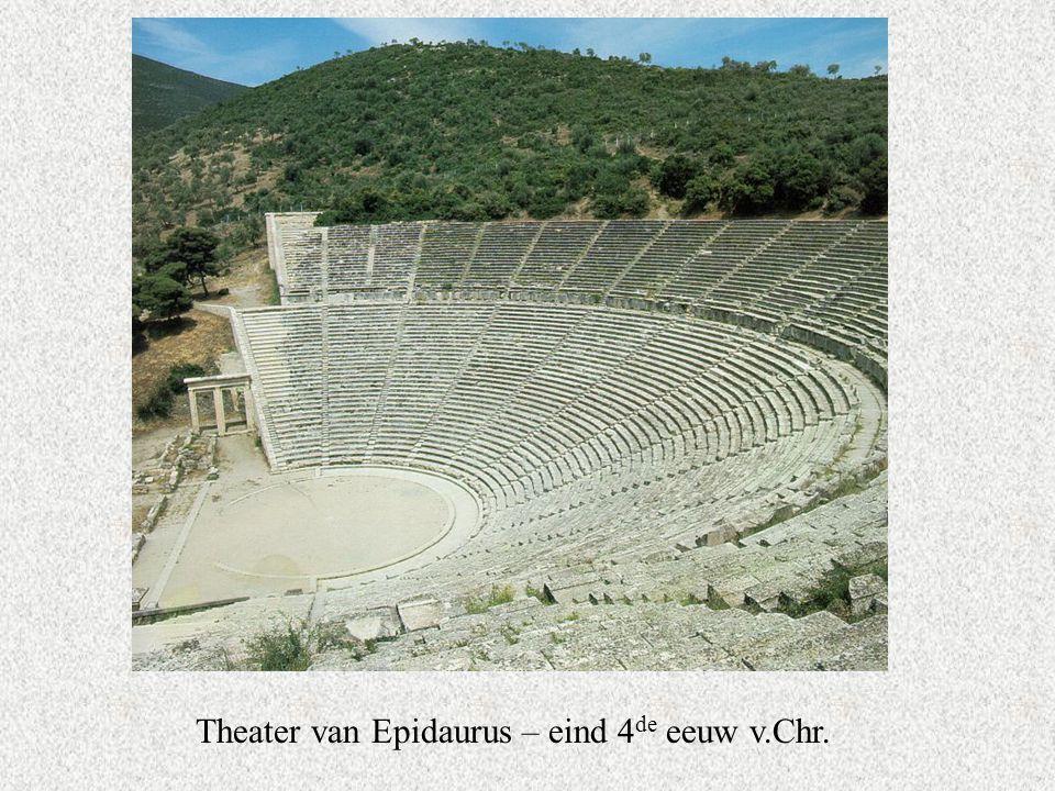 Theater van Epidaurus – eind 4 de eeuw v.Chr.