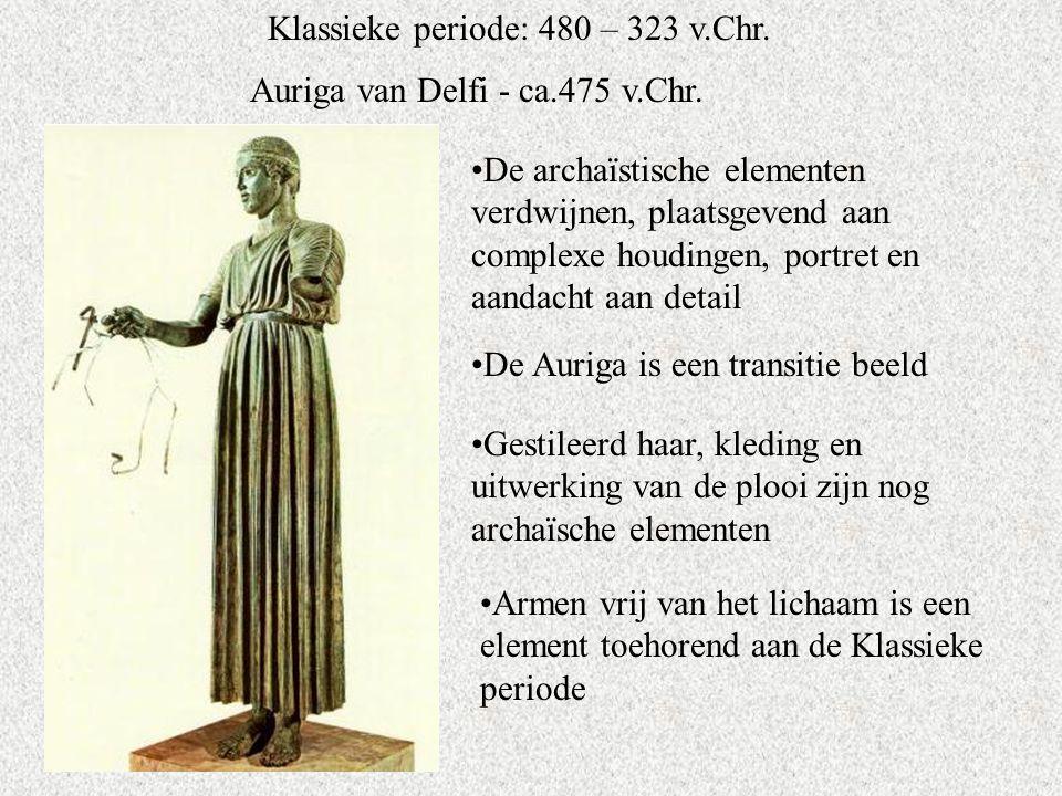 Klassieke periode: 480 – 323 v.Chr.Auriga van Delfi - ca.475 v.Chr.
